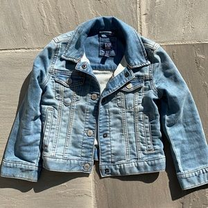 Gap kids denim jacket in xs